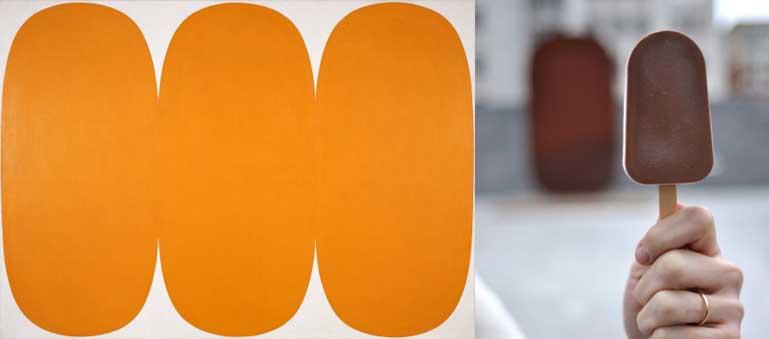 ellsworth kelly egoistokur orange white