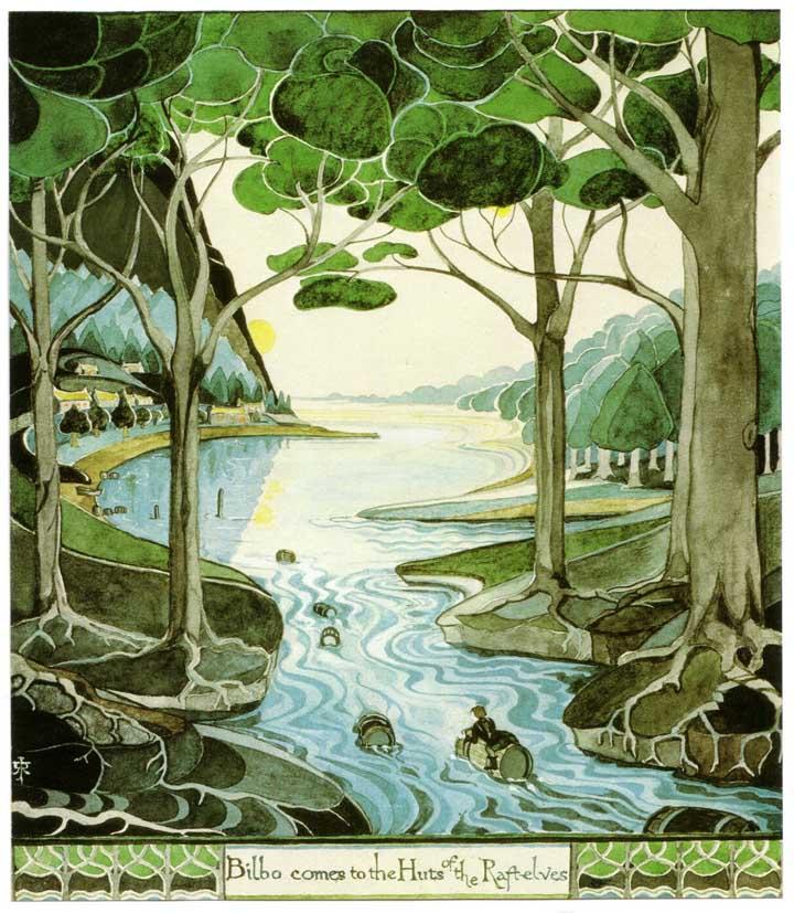 tolkien egoistokur hobbit resimleri 2