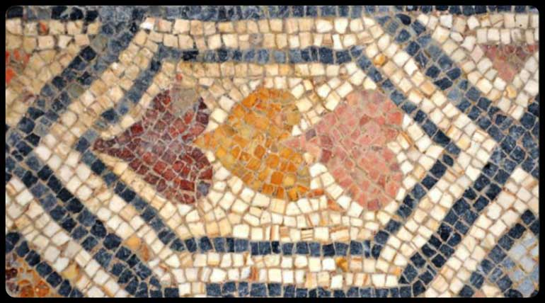 Mozaiklerdeki kalpler