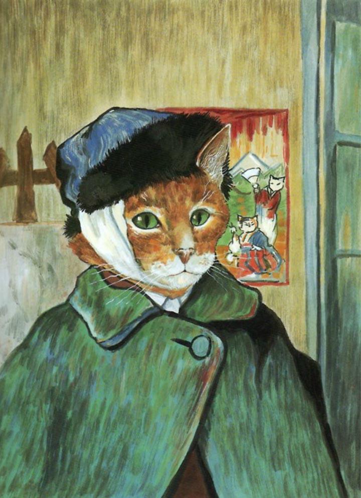 egoistokur ressamlar ve kediler gulenay borekci 1