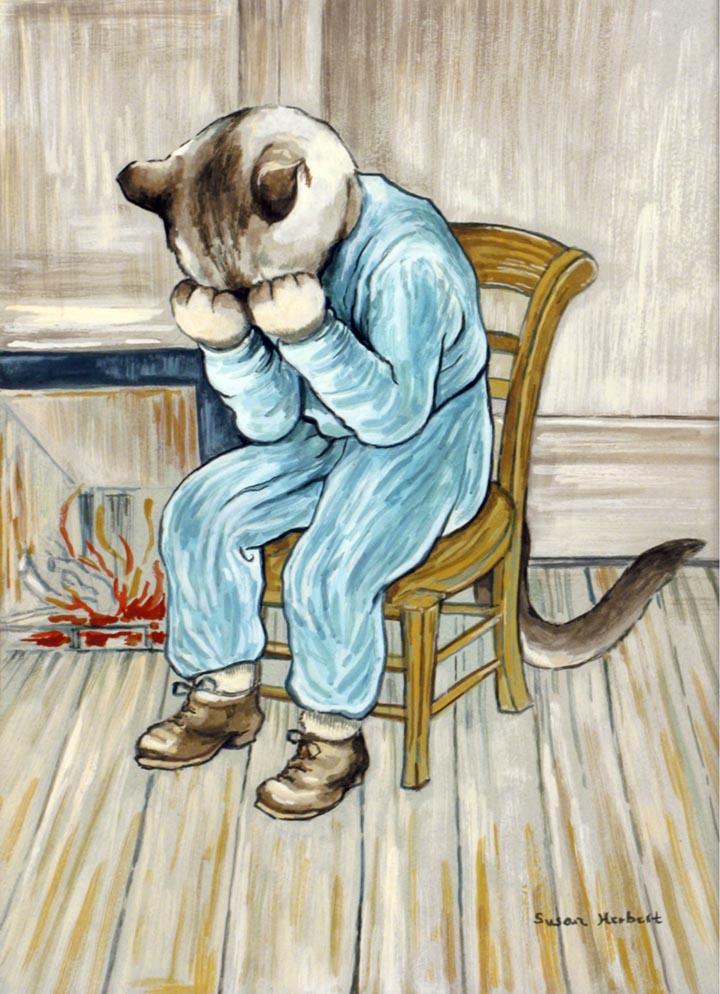 egoistokur ressamlar ve kediler gulenay borekci 13