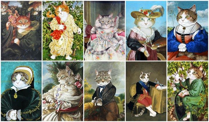 egoistokur ressamlar ve kediler gulenay borekci 14