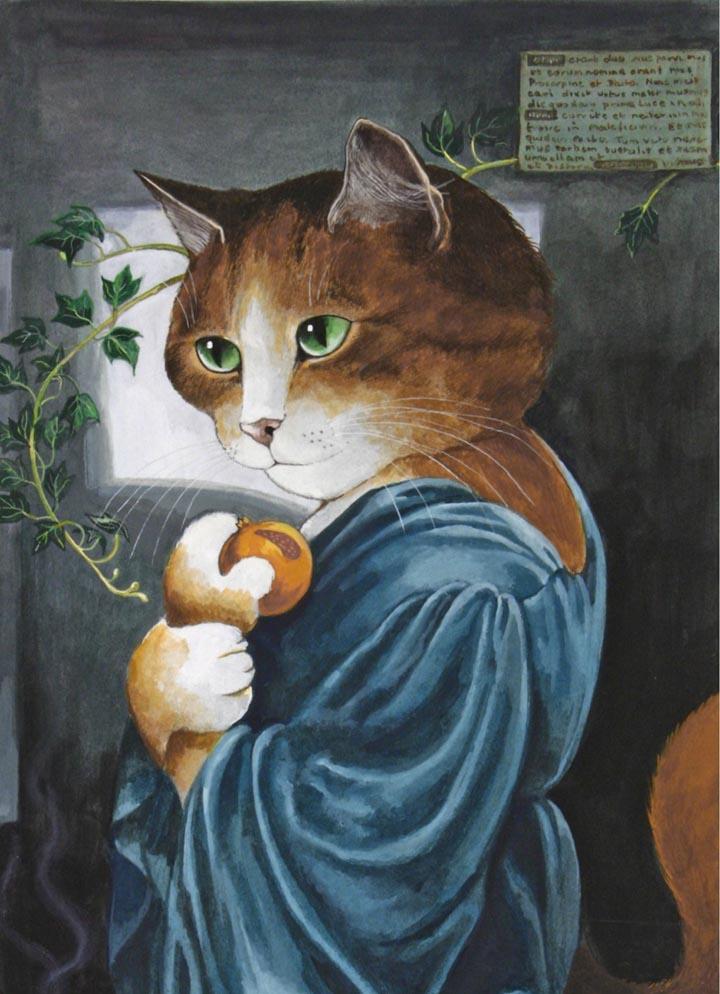 egoistokur ressamlar ve kediler gulenay borekci 3