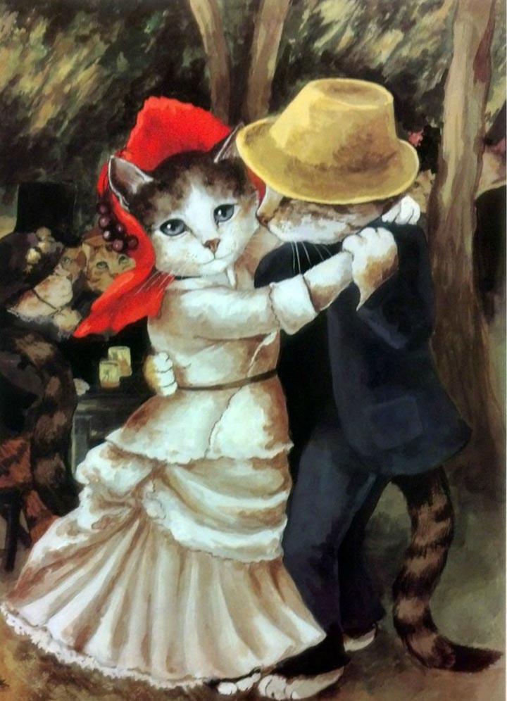 egoistokur ressamlar ve kediler gulenay borekci 4
