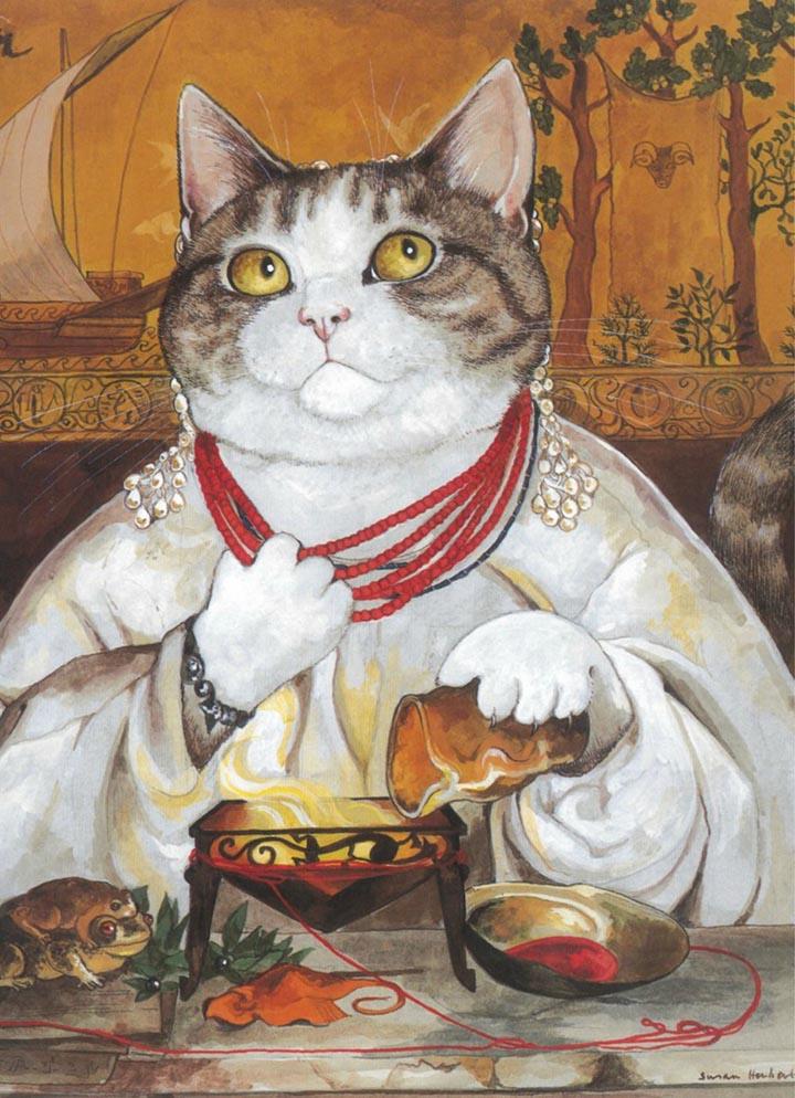 egoistokur ressamlar ve kediler gulenay borekci 6