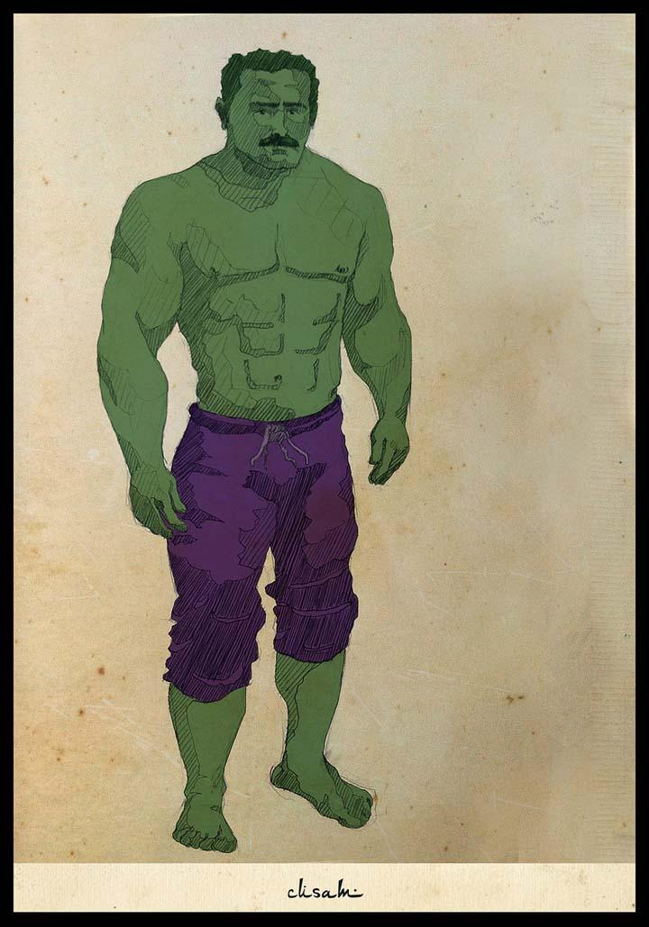The Hulk, Cusam