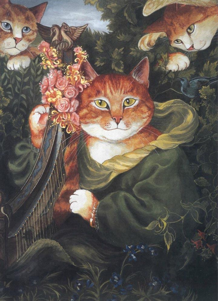 egoistokur ressamlar ve kediler gulenay borekci 10