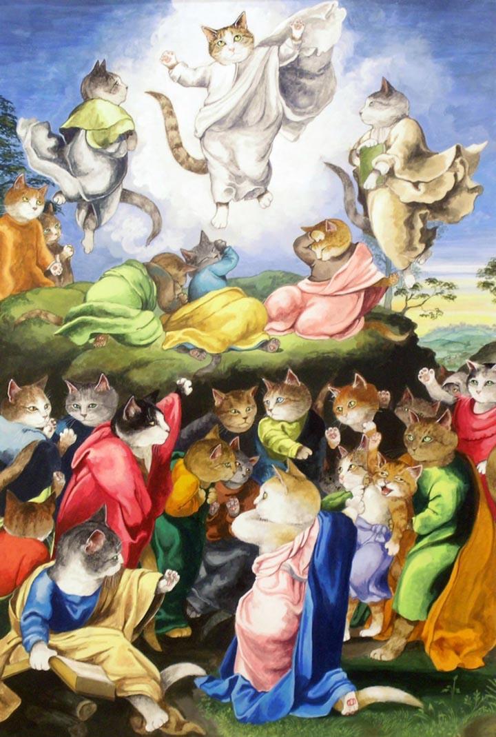 egoistokur ressamlar ve kediler gulenay borekci 11