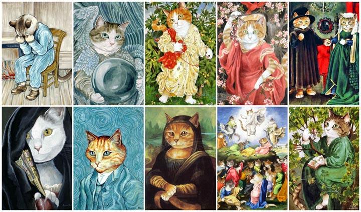 egoistokur ressamlar ve kediler gulenay borekci 16
