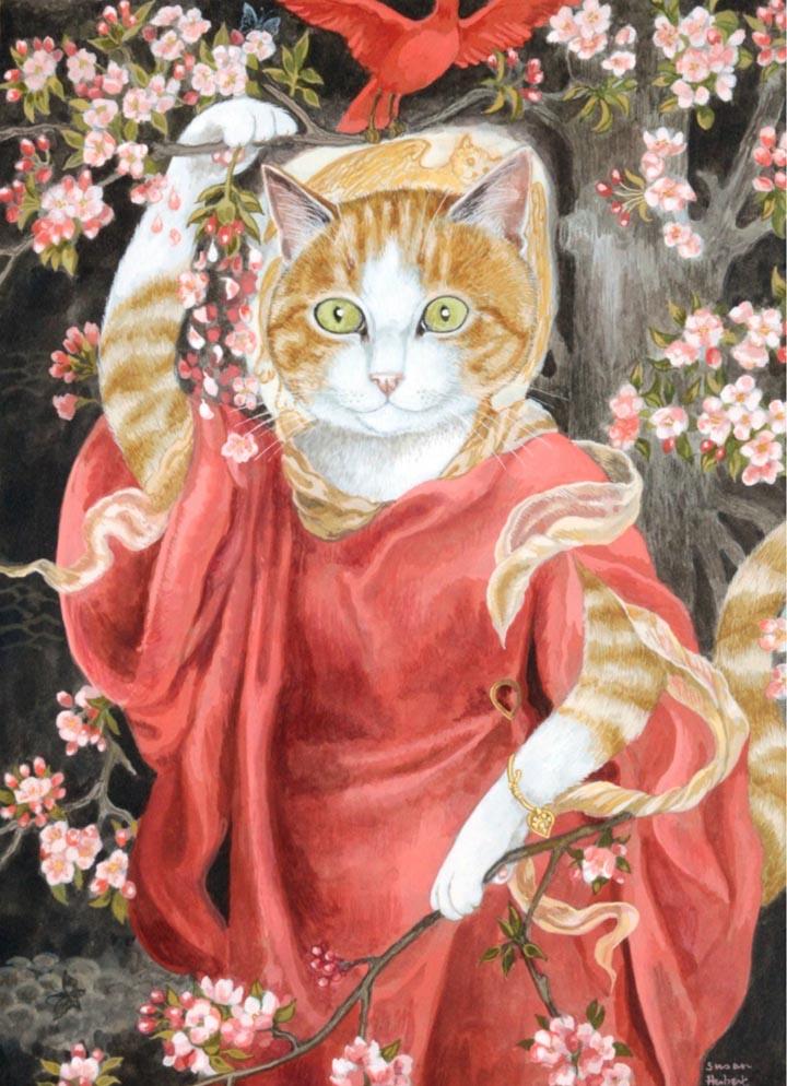 egoistokur ressamlar ve kediler gulenay borekci 5