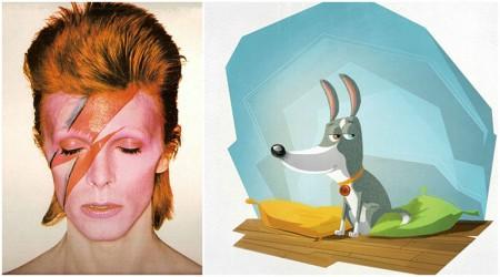 PÖTİ: David Bowie'ye benzeyen cool köpek