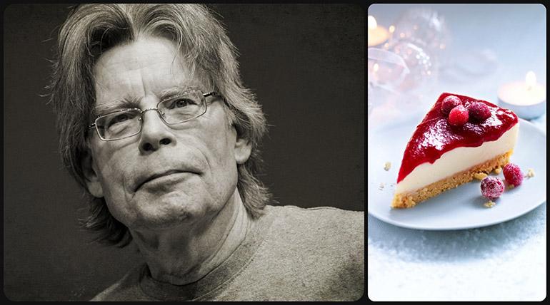 stephen king cranberry cheesecake egoistokur